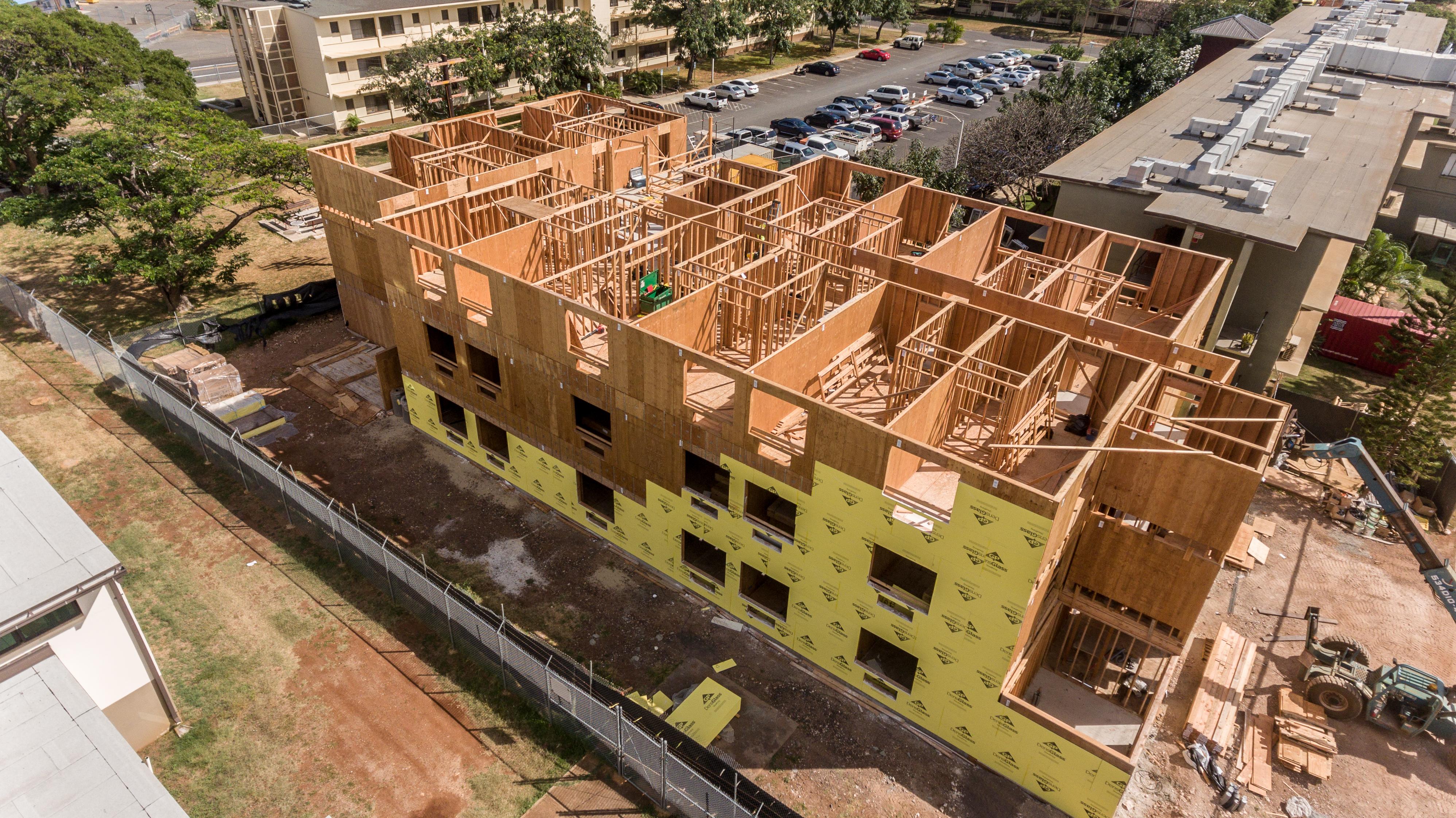 Hale Uhiwai Nalu Construction Project